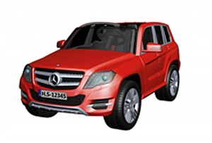 MERCEDES BENZ GLK - CLASS - RED