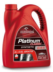 PLATINUM CLASSIC GAS SYNTHETIC 5W-40